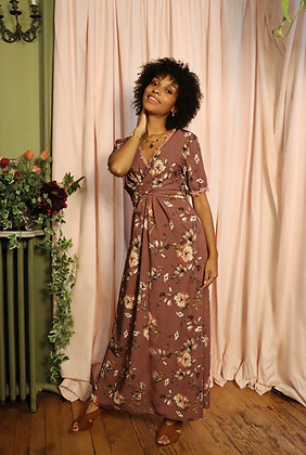 Robe Penelope chinese pink
