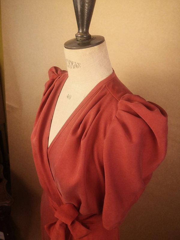 Robe Suzanne brique