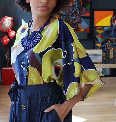 Top Kimono Delaunay