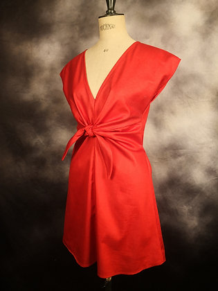 Robe cesaria rouge