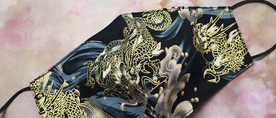 Masque dragon royal