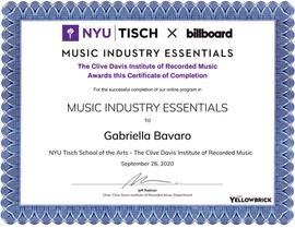 Gabriella Bavaro MIE Certificate.png