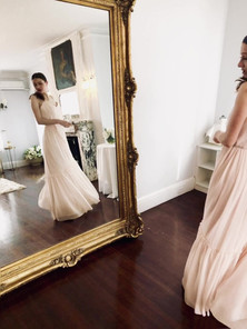 BTS of Bridal Shoot with The Briarcliff Manor and Rebeca Federico