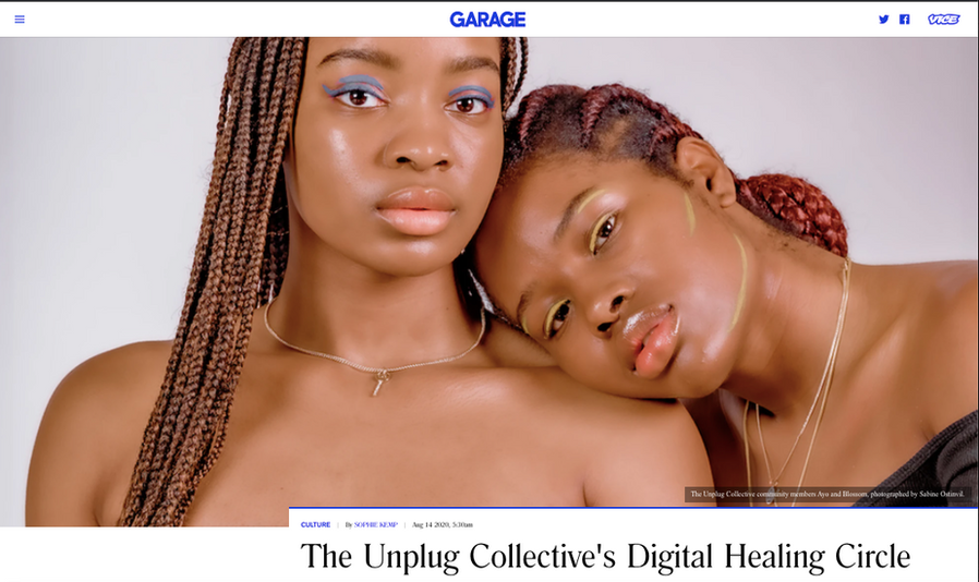 The Unplug Collective in Garage