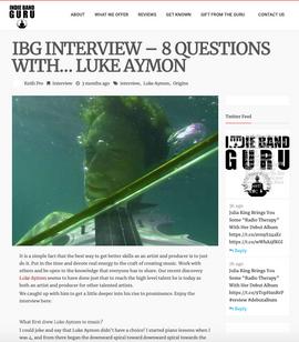Luke Aymon for IBG.com (Artist Marketing & Development)