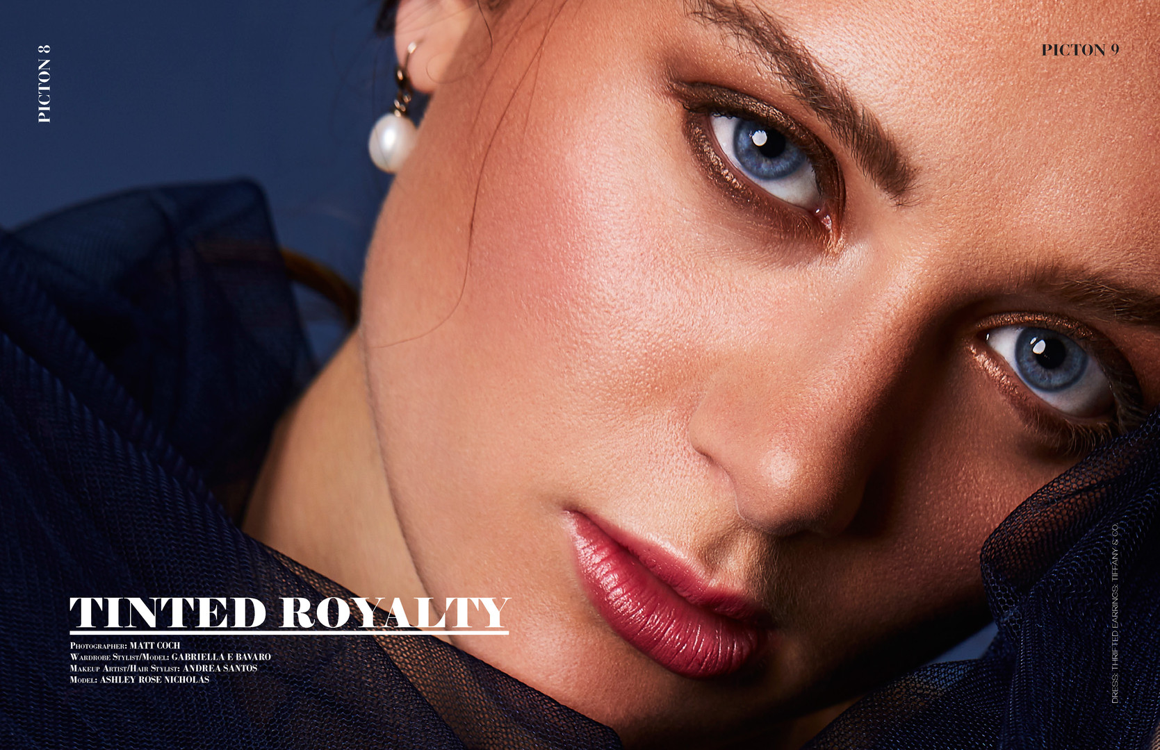 """Picton Magazine: Special Beauty Edition October 2019 Issue No. 301, pgs. 8-13 """"Tinted Royalty"""" by Matt Coch"""