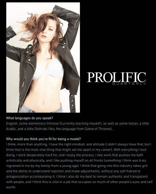 """Prolific Quarterly Aug 9, 2019 Webitorial """"Straight from the Lens"""" by Jeff Kravitz"""