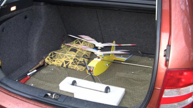 Neujahrsfliegen Modellflugverein Claussnitz