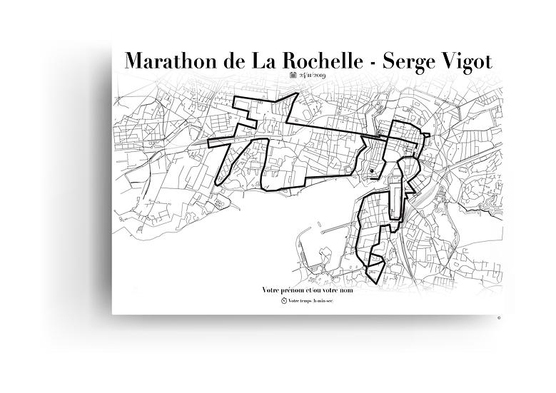 Marathon de La Rochelle - Serge Vigot 2019 - Format paysage