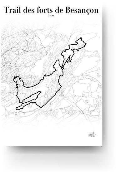 Trail des forts de Besançon - 28km