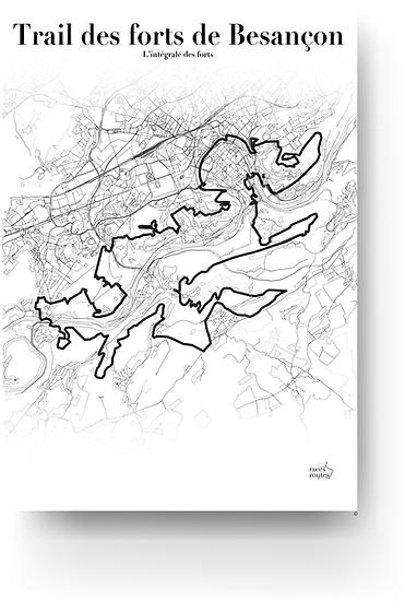 Trail des forts de Besançon - L'intégrale des forts
