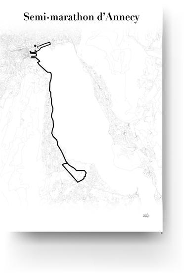 Annecy Half marathon