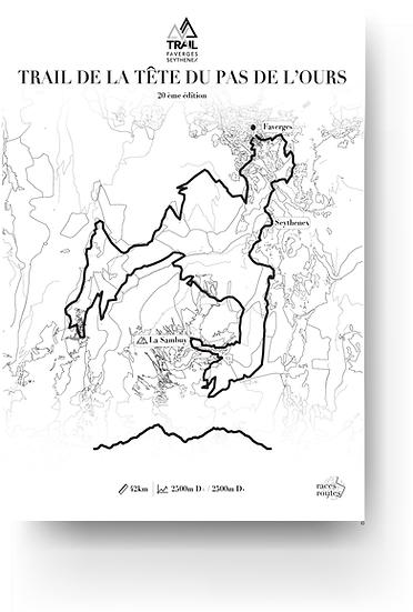 Trail de Faverges - Trail de la tête du pas de l'ours