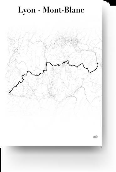 Lyon - Mont-Blanc
