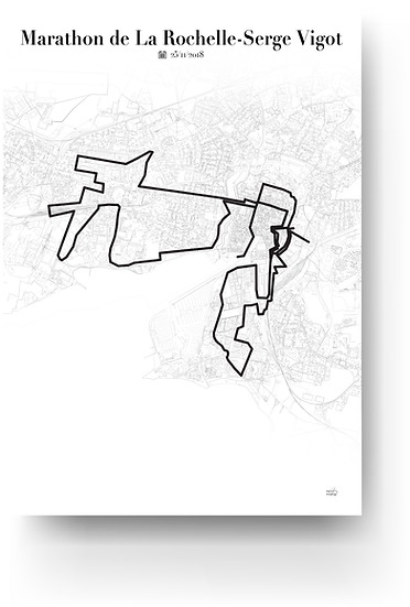 Marathon of La Rochelle - Serge Vigot
