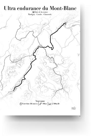 Ultra endurance du Mont-Blanc (Martigny - Combe - Chamonix)