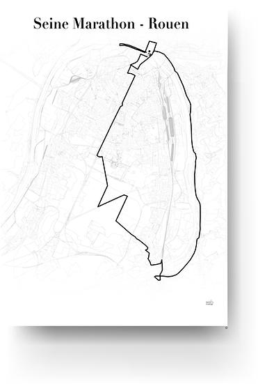 Seine marathon - Rouen