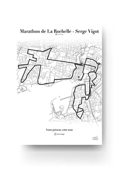 Marathon de La Rochelle - Serge Vigot 2019 - Format portrait