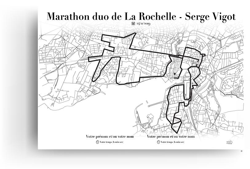 Marathon duo de La Rochelle - Serge Vigot 2019