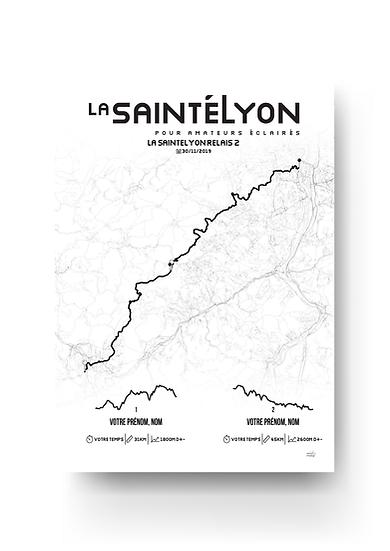 La SaintéLyon - relais 2