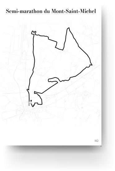 Semi marathon du Mont-Saint-Michel
