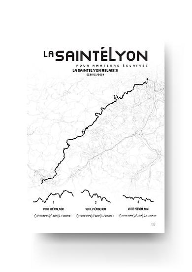 La SaintéLyon - relais 3