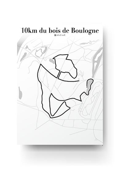 Bois de Boulogne 10km