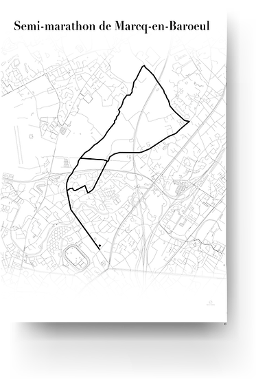 Semi marathon de Marcq-en-Baroeul