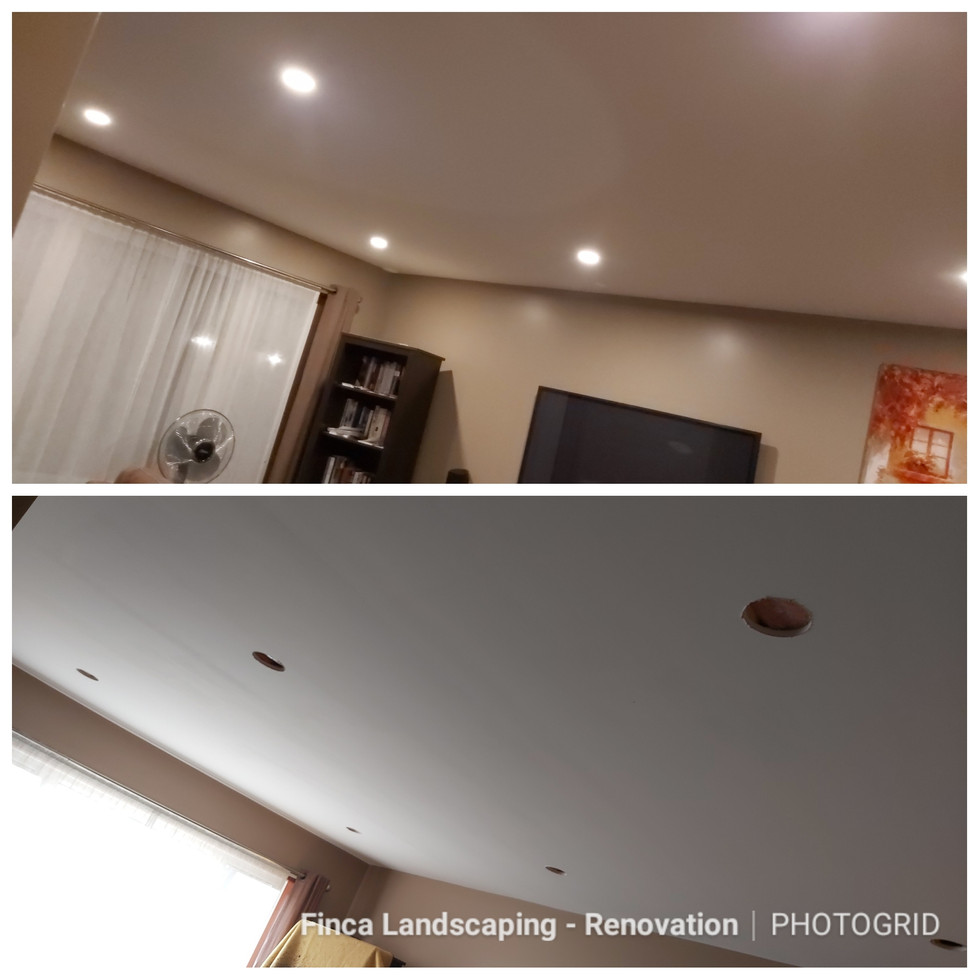 Pot Light Install