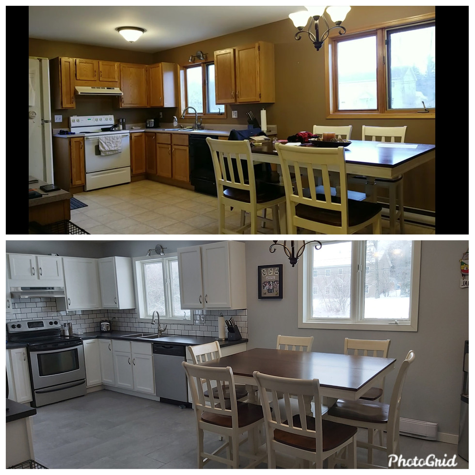 Kitchen Remodel Before & After