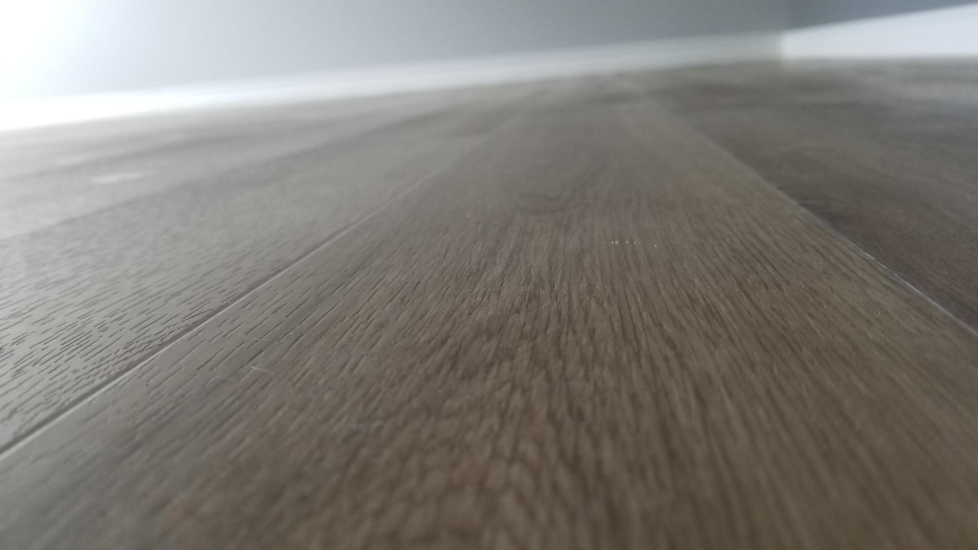Vinyl Plank Install Up Close