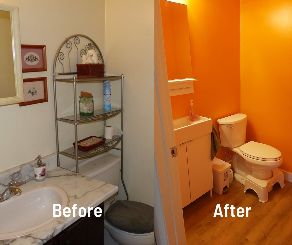 Bright Bathroom Reno