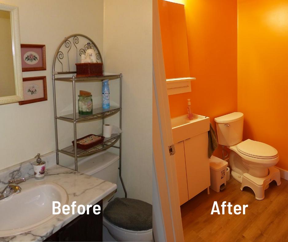 Bright Bathroom Reno