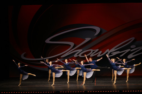 Contemporary Group Dance