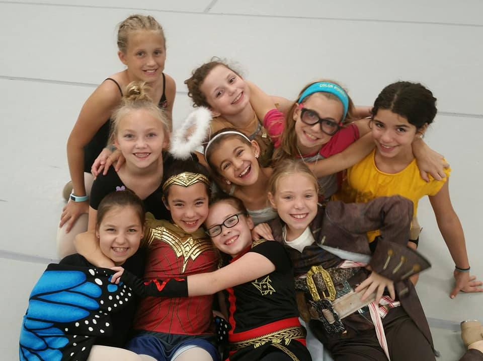 Celebrating Halloween at Mary Lorraine's Dance Center