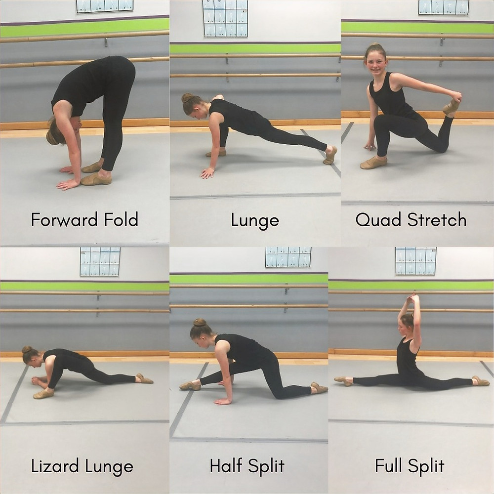 dance stretches to get your splits