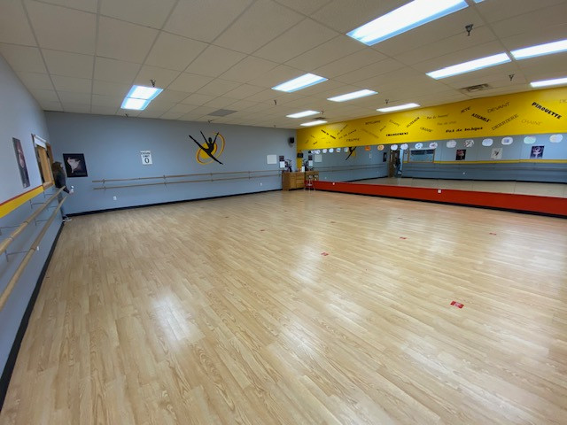 Large Dance Studio at Mary Lorraine's Dance Center