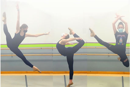 Dancers at Mary Lorraine's Dance Center