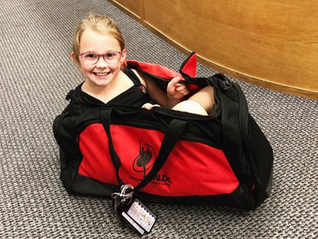 What is living in my dancer's dance bag? By Mary Lorraine herself!