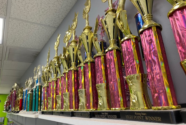 Awards from Dance Competitions