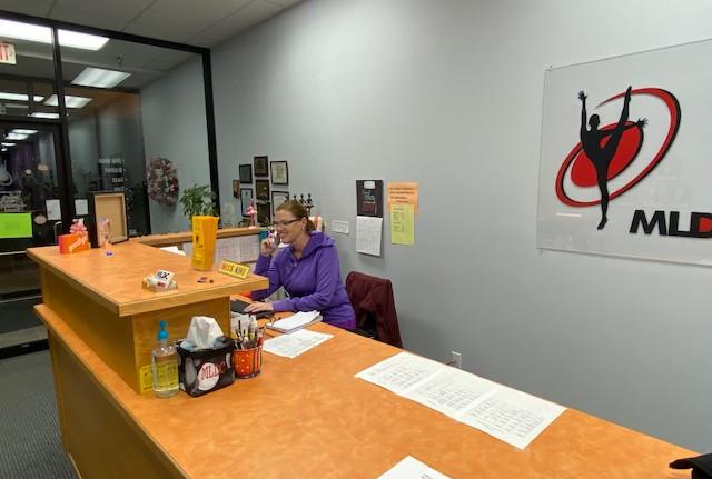 Front desk at MLDC