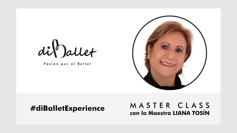 #diBalletExperience Master Class con la Maestra Liana Tosín.