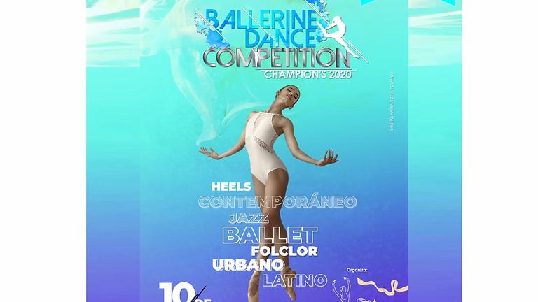 Patrocinio diBallet® BALLERINE DANCE COMPETITION