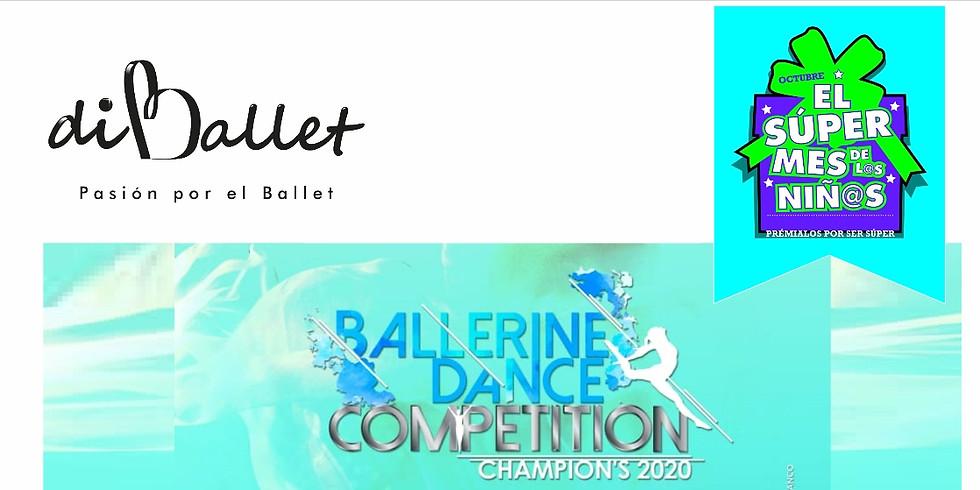 Patrocinio diBallet BALLERINE DANCE COMPETITION