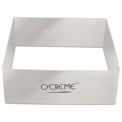 "O'Creme Square Cake Ring 4-3/4"" x 1-3/4"" High (120mm x 45mm High)"