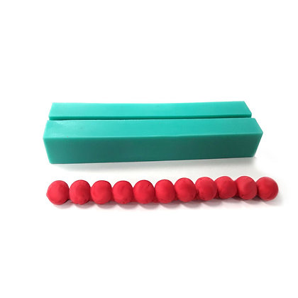 O'Creme Silicone Bead Mold - Choose Bead-Cavity Size