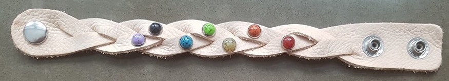 Rainbow Weave Bracelet