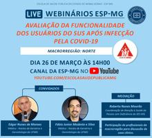 Live: USUÁRIOS DO SUS APÓS INFECÇÃO DE COVID-19