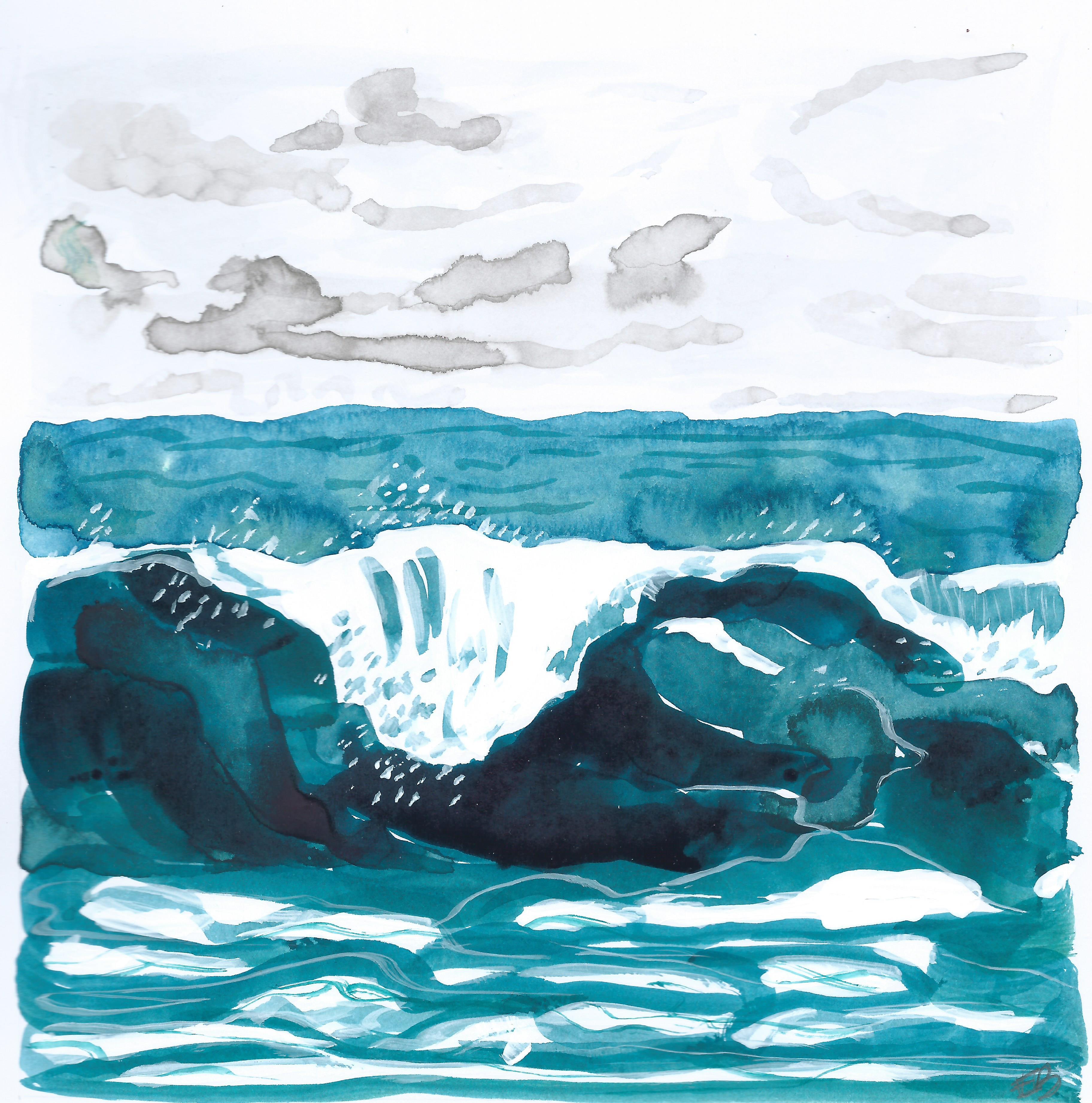 turquoise seas I