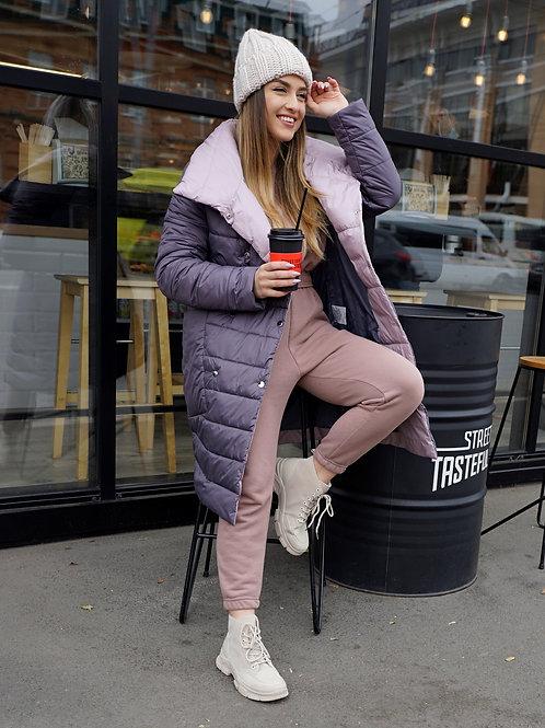 Куртка женская весенняя двухцветная